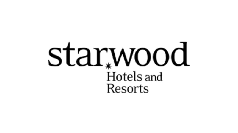 Logotipo de la compañía Starwood Hotels and Resorts