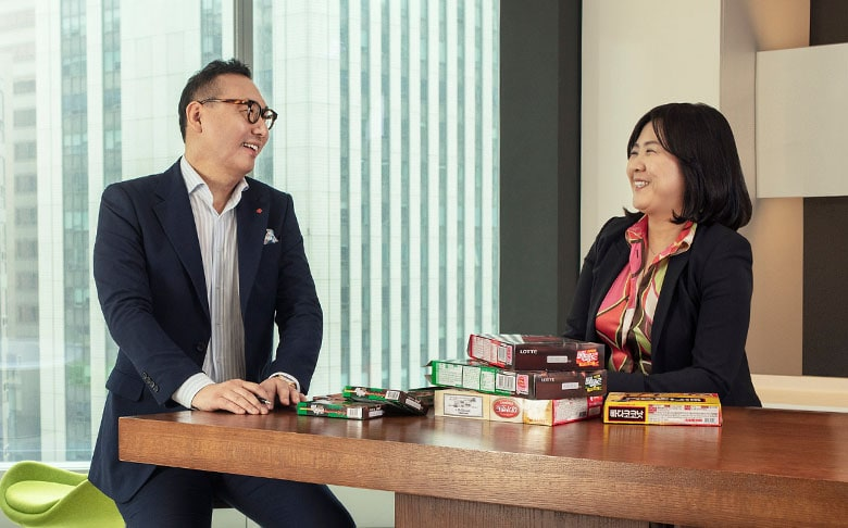 Lotte Confectionery partnered with IBM Services