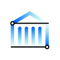 Icon representing the banking use case for data lakes