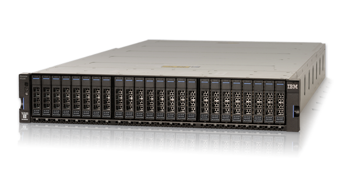 New! Introducing the IBM Storwize V5100F