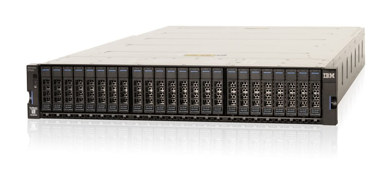 IBM Storwize V7000 with NVMe
