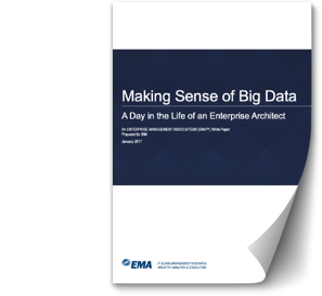 "Cover page of the white paper ""Making Sense of Big Data"""