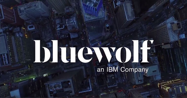 Bluewolf, an IBM Companyのロゴ