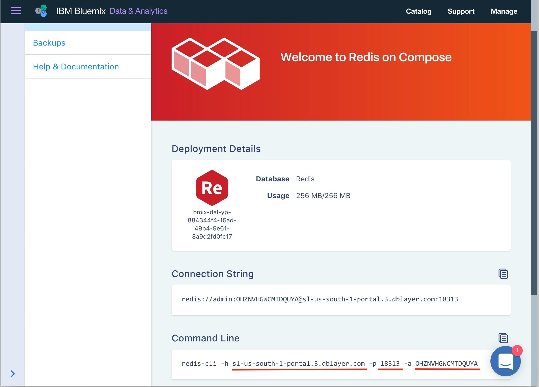 Accessing a Bluemix Redis Service from a Java Spring Boot