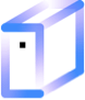 Icon representing data warehouses as a tool for data management