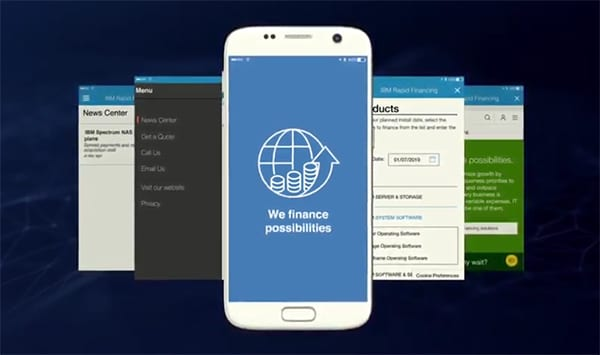 IBM Rapid Financing App - Get more done, faster