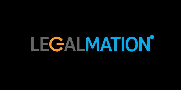 LegalMation brand name logo