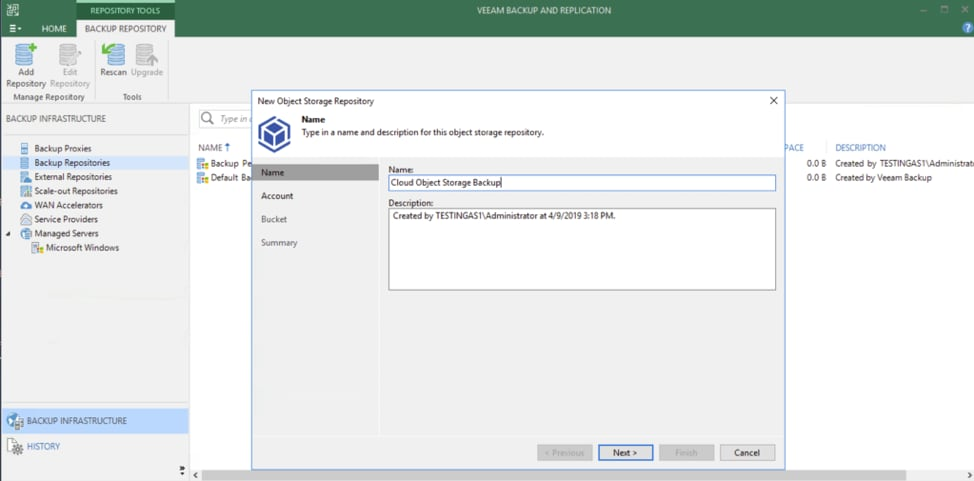 How To Use IBM Cloud Object Storage with Veeam-7