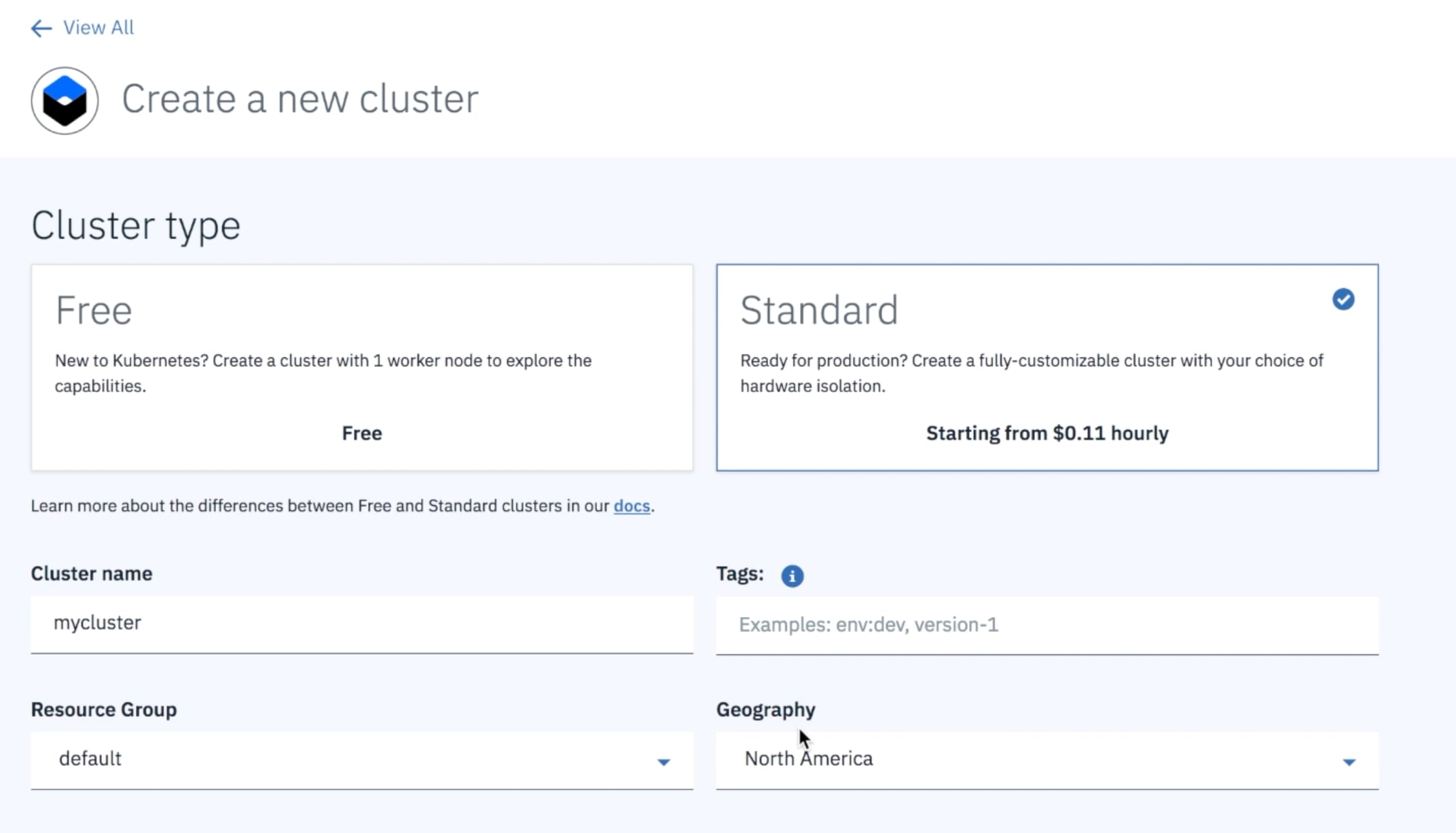 Spinning up Kubernetes cluster
