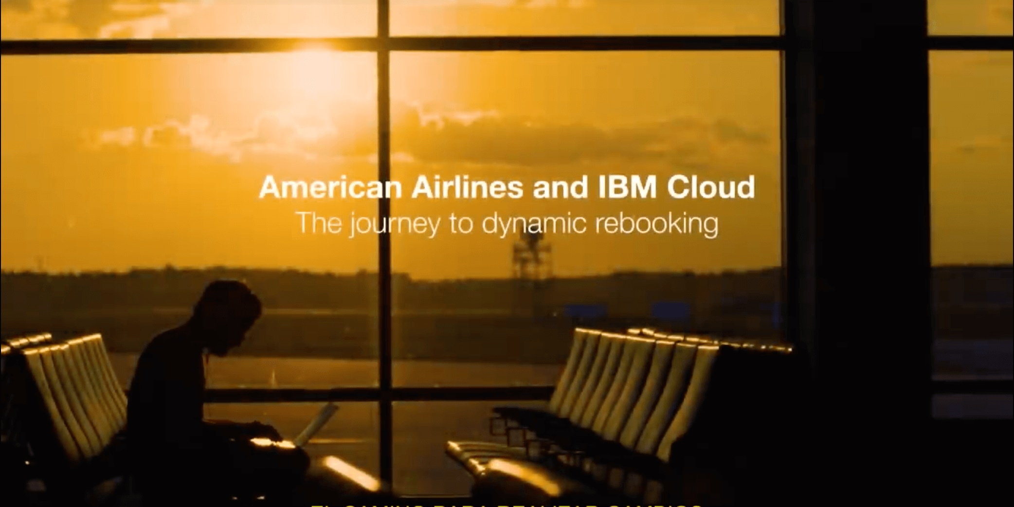 IBM Cloud vuela con American Airlines
