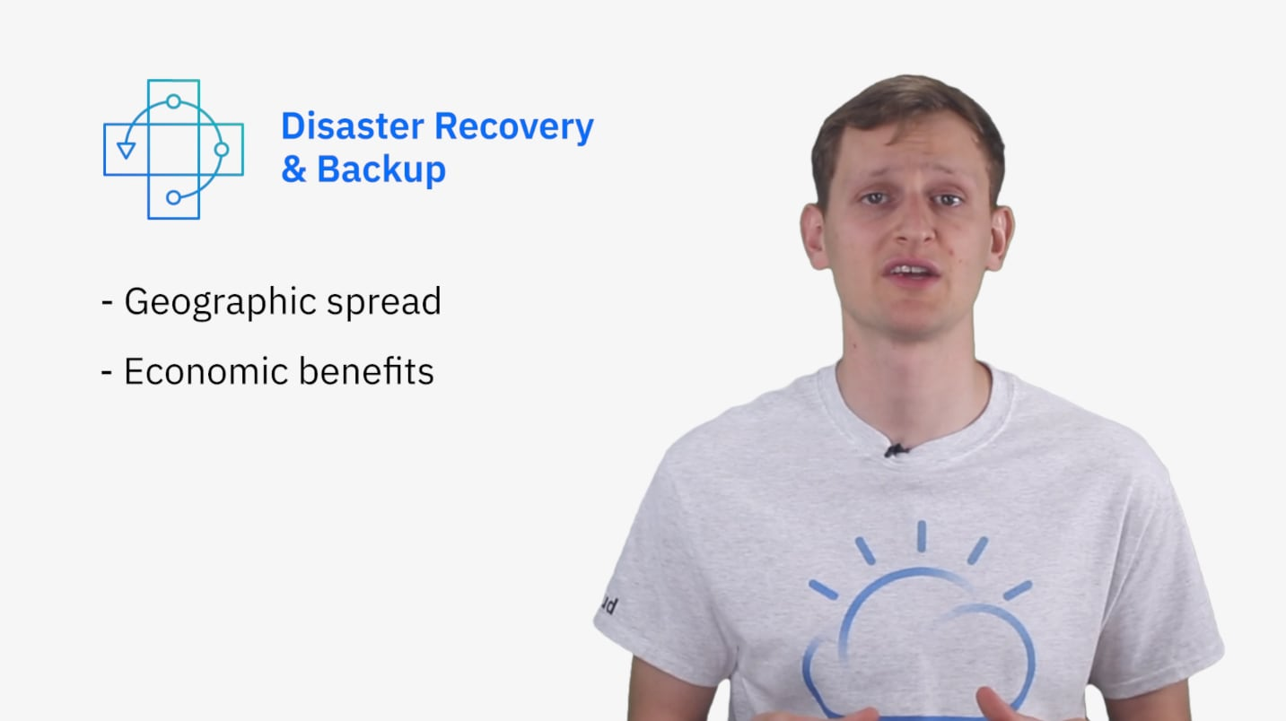 Disaster and backup recovery benefits