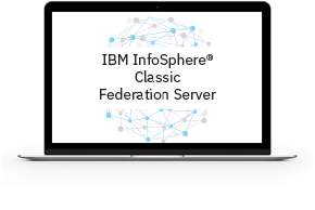 Screen representing InfoSphere Classic Federation Server