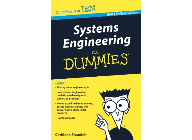 book cover for Systems Engineering for Dummies