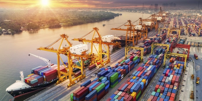 Blockchain helps digitize global shipping