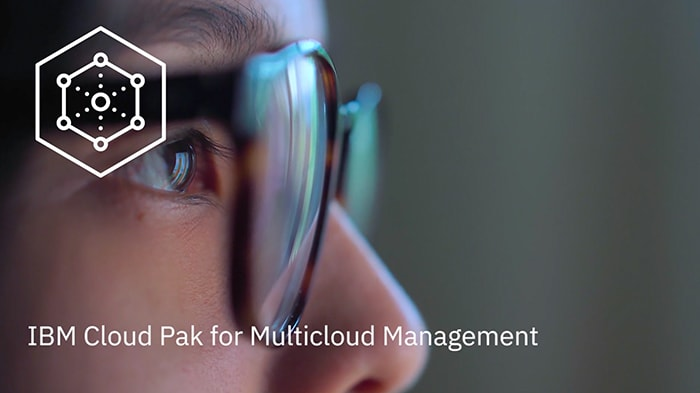 Still image from the video, Under the Hood: IBM Cloud Pak for Multicloud Management