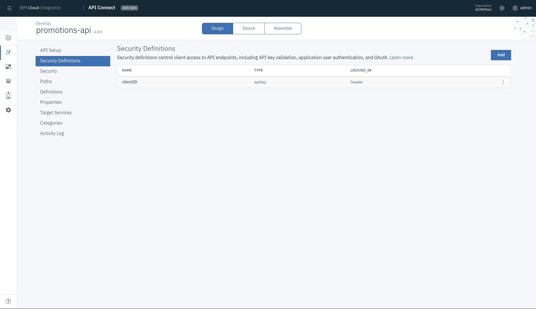 Screen capture showing how IBM Cloud Integration works to help secure and govern APIs.