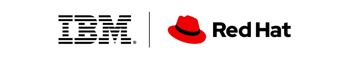 Red Hat IBM 로고