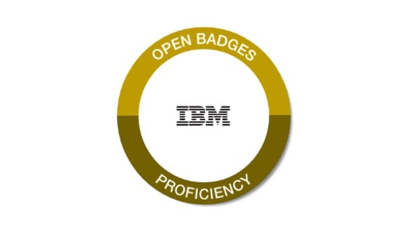 IBM badge
