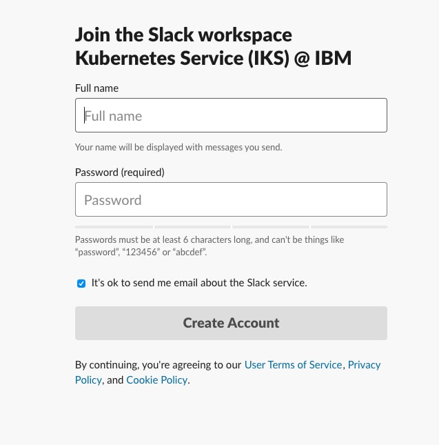 Get Help with IBM Cloud App ID-Related Questions on Slack | IBM