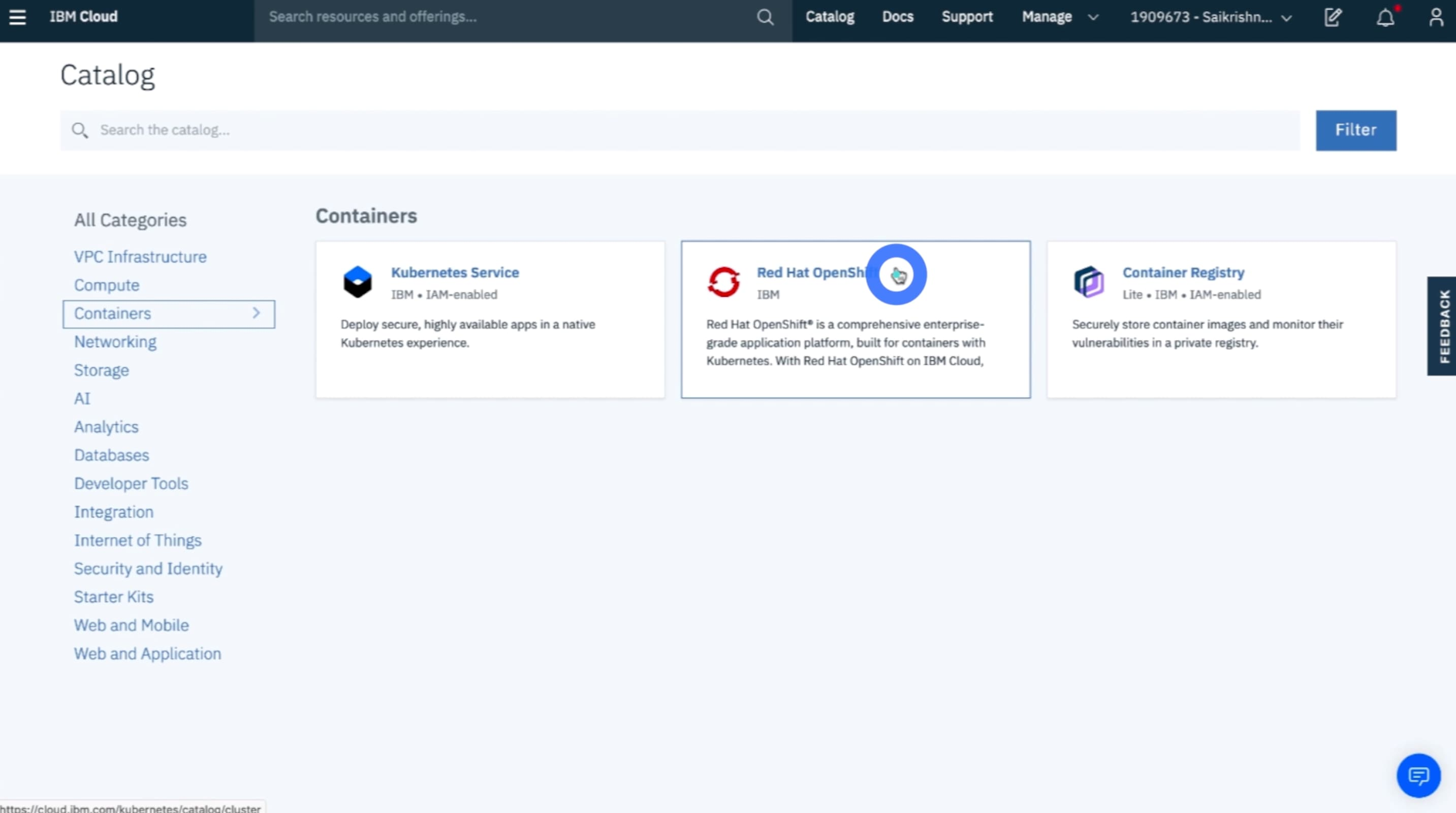 Creating an OpenShift cluster