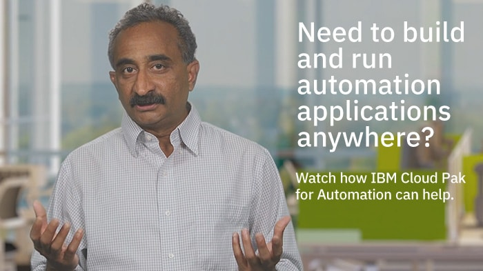 IBM Cloud Pak for Automation in one minute