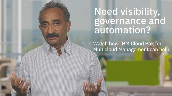 What is IBM Cloud Pak for Multicloud Management?