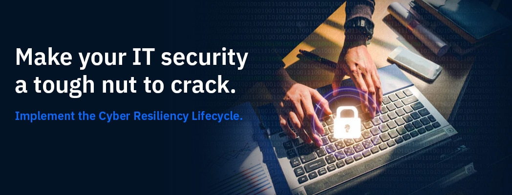 Make your IT security a tough nut to crack.