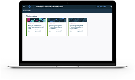Screen shot from video on IBM Db2 Event Store, a fast data solution