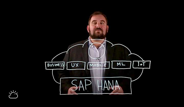Still image from the What Is SAP HANA? video