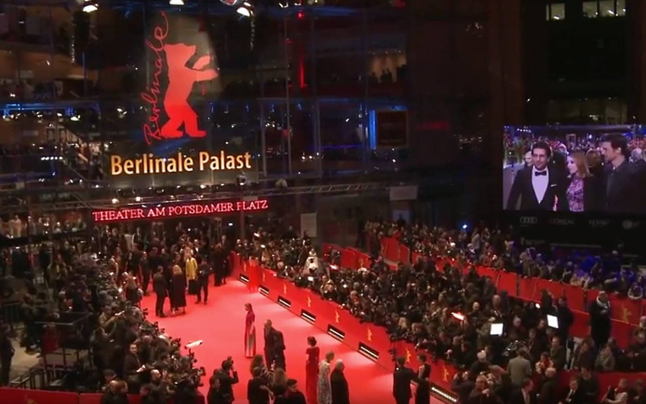 A photo from the Berlin International Film Festival, or Berlinale
