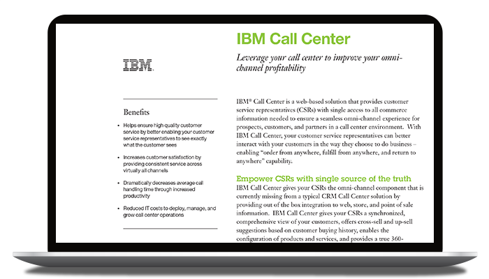 IBM Call Center