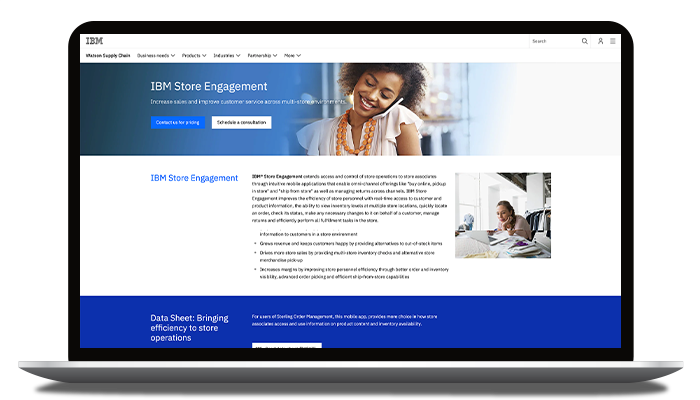 IBM Store Engagement
