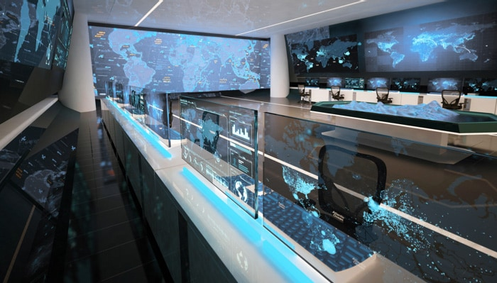 a global security room