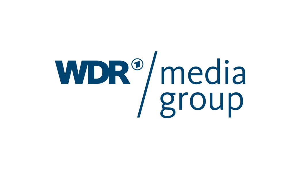 WDR Media Group 徽标和案例研究链接,用于描绘 Aspera 如何推动复杂的数字媒体工作流程