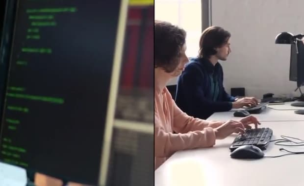 Developers testing apps