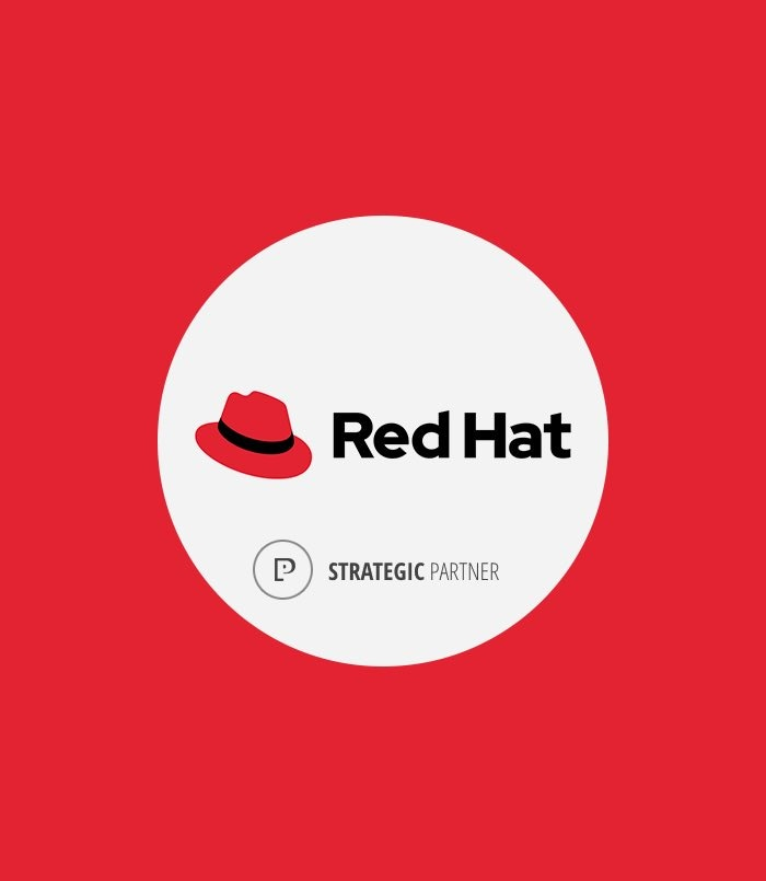 Red Hat strategic partner logo