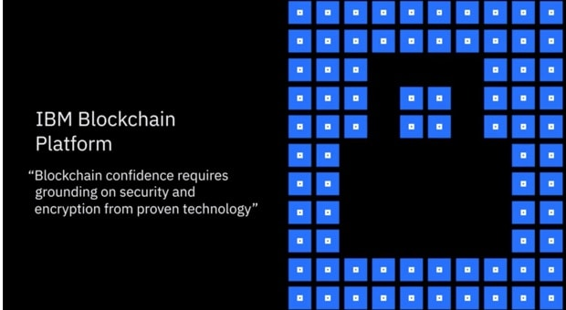 Video with lock representing the Blockchain technology