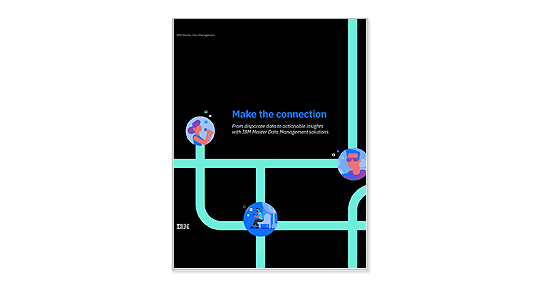 Making the connection - master data management ebook image