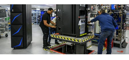 People working on IBM z15