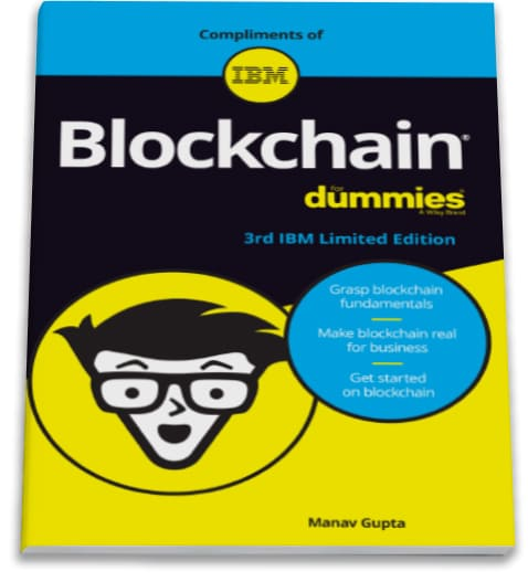 Image of book Blockchain for Dummies 3rd edition