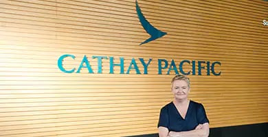 Hong Kong cathay pacific customer story