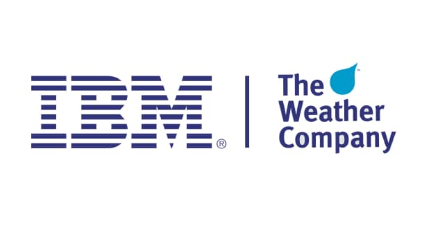 Logo von The Weather Company