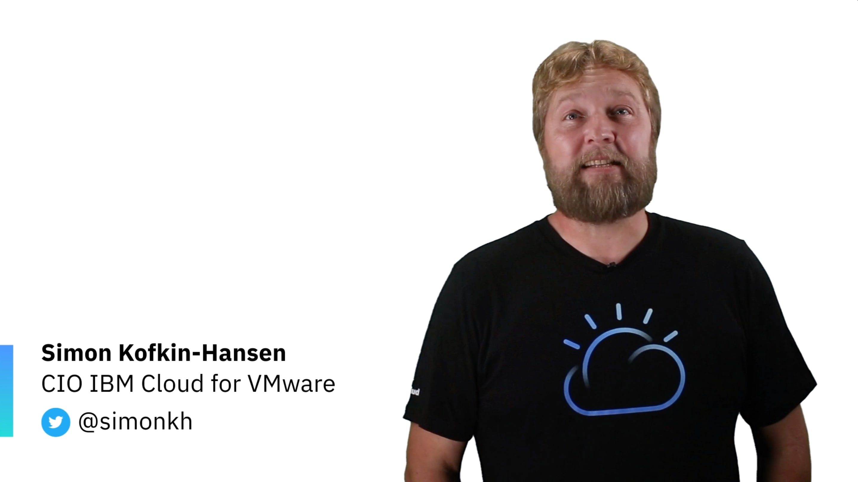 Intro to IBM Cloud for VMware Solutions