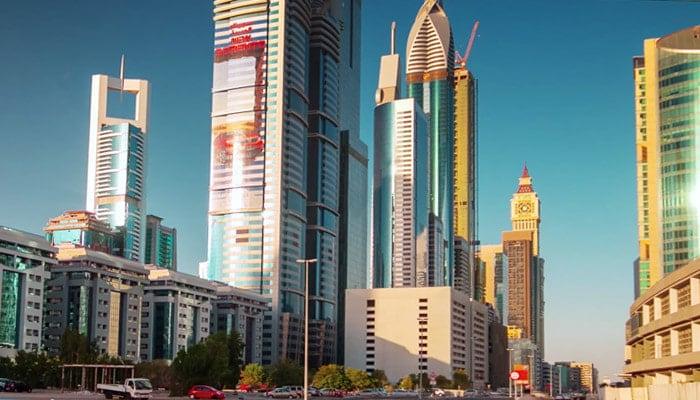 pretty skyscrapers
