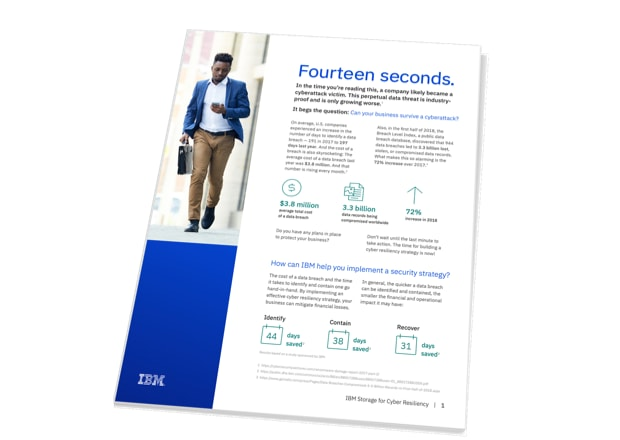 data breach infographic booklet cover