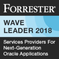 Forrester Wave Leader 2018, Services Providers for next generation Oracle applications