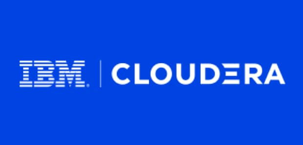 IBM and Cloudera logos