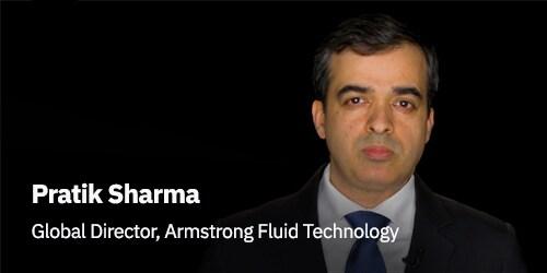Pratik Sharma, Armstrong Fluid representative