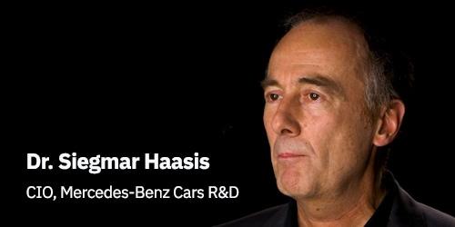 Dr. Siegmar Haasis, Mercedes representative