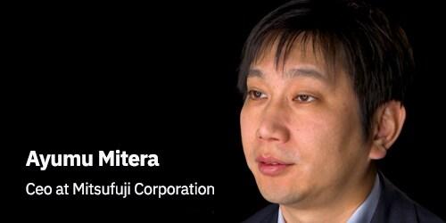 Ayumu Mitera, Mitsufuji Corporation representative